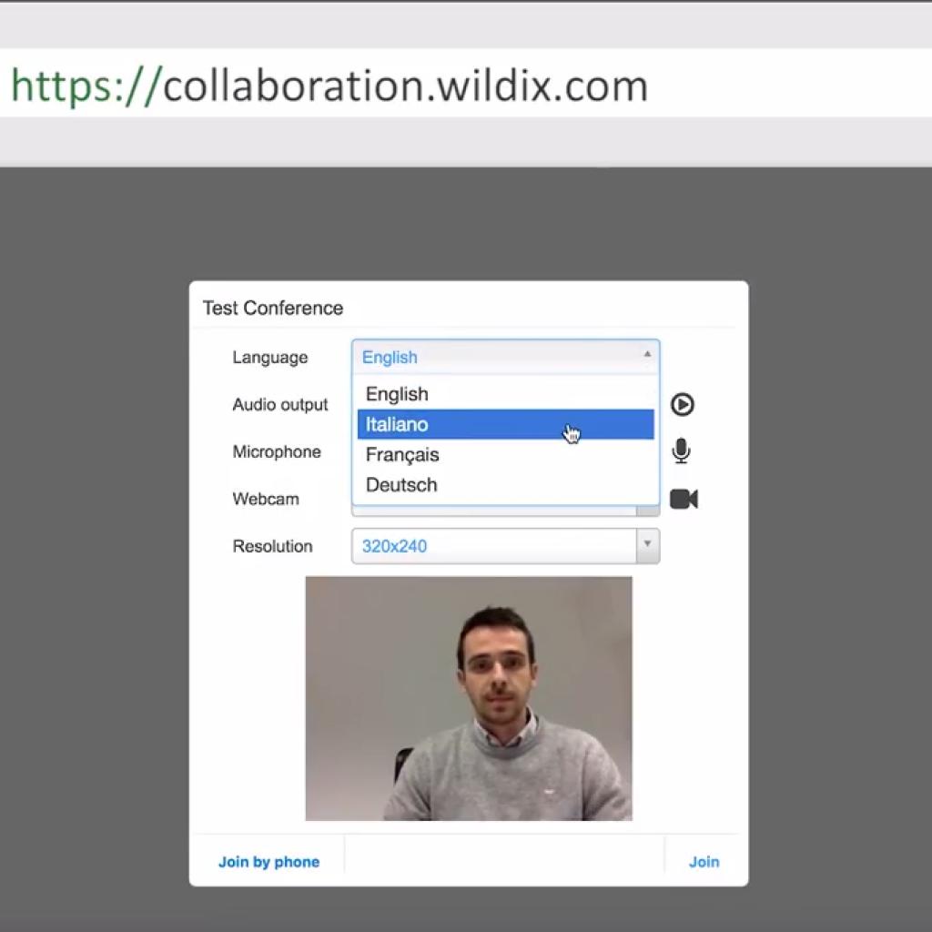 Centralino Virtuale Wildix Videoconferenza